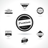 Retro style labels and badges Royalty Free Stock Photography