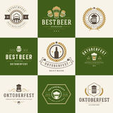 Retro style labels, badges and logos set Stock Image
