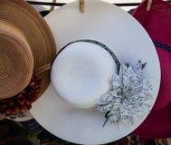 Retro style lady's hats Royalty Free Stock Photography