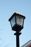 Retro style lamppost in the city park Stock Photography