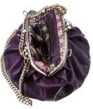 Retro style leather bag Royalty Free Stock Photo