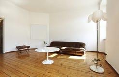 Retro style living-room Stock Photos