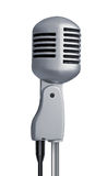 Retro style microphone Royalty Free Stock Photos