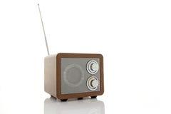 Retro style mini radio player Stock Image