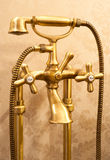 Retro style mixer tap Royalty Free Stock Photo