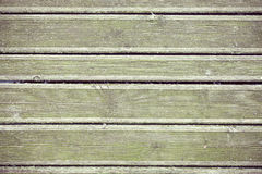 Retro style old wooden grunge pier floor. Royalty Free Stock Photography