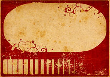 Retro style paper background Royalty Free Stock Image