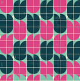 retro style  pattern Stock Images