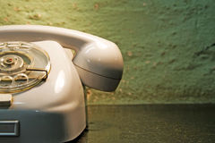 Retro style phone Stock Image