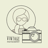 Retro style photo Royalty Free Stock Photos