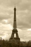 Retro style photo of Eiffel Tower Stock Photos