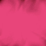 Retro style pink dotted pop art grain background. Distressed halftone spotted polka-dot funky comic book page template. Round particle. Vector illustration vector illustration
