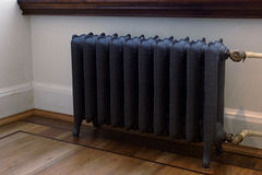 Retro style radiator Royalty Free Stock Images