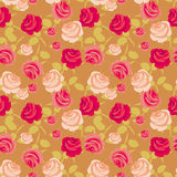 Retro style rose vector Royalty Free Stock Photography