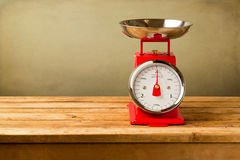 Retro style scales Royalty Free Stock Photos
