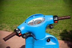 Retro style scooter Royalty Free Stock Images