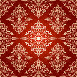 Retro style seamless pattern Royalty Free Stock Images