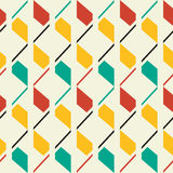 Retro style seamless pattern. Retro style abstract seamless pattern Vector Illustration
