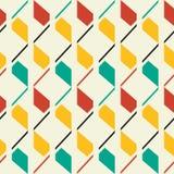 Retro style seamless pattern. Retro style abstract seamless pattern Stock Photos