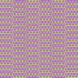 Retro style seamless pattern design Royalty Free Stock Photography
