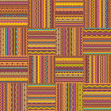 Retro style seamless repeat pattern Royalty Free Stock Photo