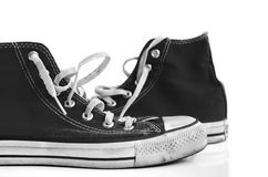Retro style sneakers Royalty Free Stock Image