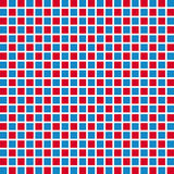 Retro style square seamless background. Royalty Free Stock Photography