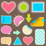 Retro Style Sticker Stock Photos