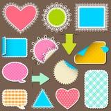 Retro Style Sticker Stock Photos