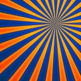 Retro Style Sunburst Royalty Free Stock Image