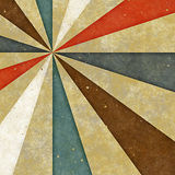 Retro style sunburst grungy paper Stock Photography