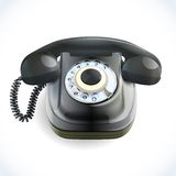 Retro style telephone Royalty Free Stock Photos