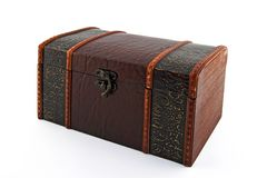 Retro style treasure chest Royalty Free Stock Photo