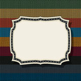 Retro style vintage label 6 Royalty Free Stock Photography