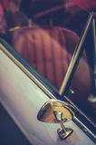 Retro Style Vintage Sports Car Detail Royalty Free Stock Image