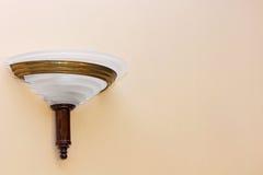 Retro style wall light fixture. Stock Photo