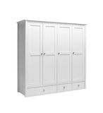 Retro style white cabinet Stock Images