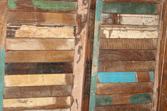 Retro style wooden background Stock Image
