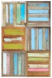 Retro style wooden Stock Photo