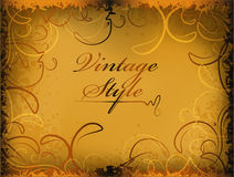 Retro styled background. Multidimensional and volumetric Royalty Free Stock Image