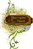 Retro styled  background. Stock Photo