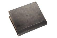 Retro-styled big album folio,. Isolated on white Royalty Free Stock Photo