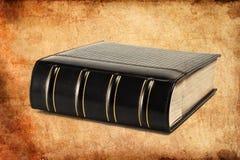 Retro-styled big folio. Retro-styled big leather folio Royalty Free Stock Photography