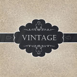 Retro styled card Stock Photography