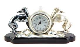Retro-styled clock Royalty Free Stock Image