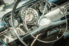 Retro styled dashboard Royalty Free Stock Photo