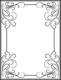 Retro-styled frame. Stock Photography