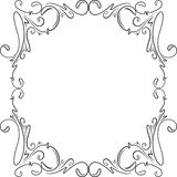 Retro-styled frame. Stock Images