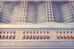 Retro styled image of an old jukebox Stock Photography