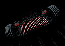 Retro styled monster car Royalty Free Stock Photo